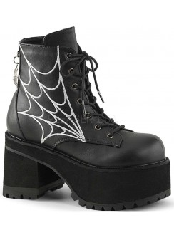 Webbed Ranger Womens Gothic Platform Boot Gothic Plus Gothic Clothing, Jewelry, Goth Shoes & Boots & Home Decor