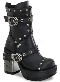 Sinister Womens Motorcycle Boot Gothic Plus Gothic Clothing, Jewelry, Goth Shoes & Boots & Home Decor
