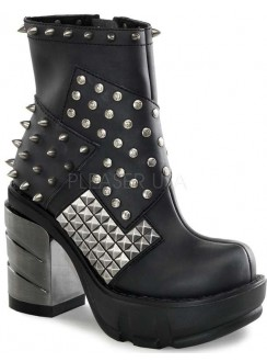 Spiked and Studded Sinister Womens Boot Gothic Plus Gothic Clothing, Jewelry, Goth Shoes & Boots & Home Decor