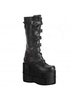 Mens Extreme Platform Knee Boot with Lace Up Strap Gothic Plus Gothic Clothing, Jewelry, Goth Shoes & Boots & Home Decor
