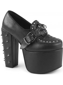 Torment Studded Platform Gothic Loafer Gothic Plus Gothic Clothing, Jewelry, Goth Shoes & Boots & Home Decor