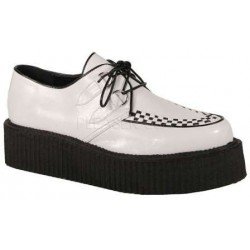 Vegan Leather Mens Basic Creeper Loafer Gothic Plus Gothic Clothing, Jewelry, Goth Shoes & Boots & Home Decor
