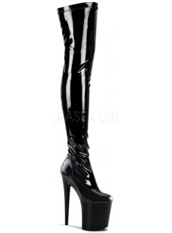 Flamingo 8 Inch Heel Thigh High Platform Boot Gothic Plus Gothic Clothing, Jewelry, Goth Shoes & Boots & Home Decor