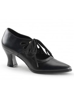 Victorian Black Cut Out Womens Pump Gothic Plus Gothic Clothing, Jewelry, Goth Shoes & Boots & Home Decor