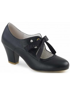 Wiggle Vintage Style Mary Jane Shoe in Black Gothic Plus Gothic Clothing, Jewelry, Goth Shoes & Boots & Home Decor
