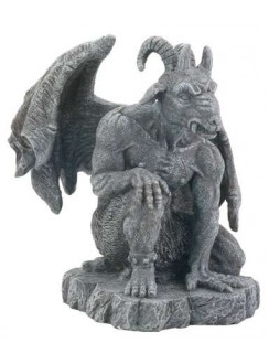 The Guardian Gargoyle Statue Gothic Plus Gothic Clothing, Jewelry, Goth Shoes & Boots & Home Decor