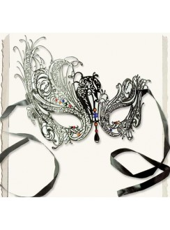 Gothic Intrigue Whimsy Mask Gothic Plus Gothic Clothing, Jewelry, Goth Shoes & Boots & Home Decor