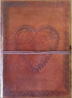 Heart Leather Journal Gothic Plus Gothic Clothing, Jewelry, Goth Shoes & Boots & Home Decor