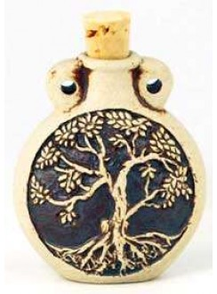 Tree of Life Oil Bottle Necklace Gothic Plus Gothic Clothing, Jewelry, Goth Shoes & Boots & Home Decor