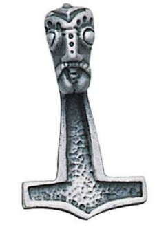 Thors Hammer Necklace for Protection Gothic Plus Gothic Clothing, Jewelry, Goth Shoes & Boots & Home Decor