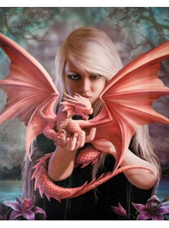 Dragon Kin Canvas Print Gothic Plus Gothic Clothing, Jewelry, Goth Shoes & Boots & Home Decor