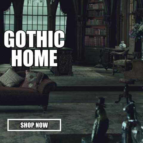gothic home decor at gothic plus your online goth store