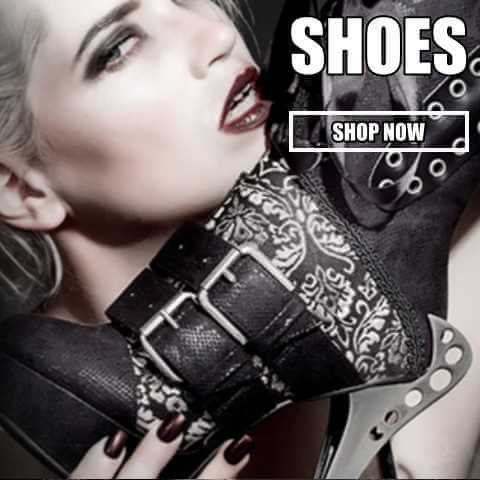 gothic womens shoes boos footwear demonia hades