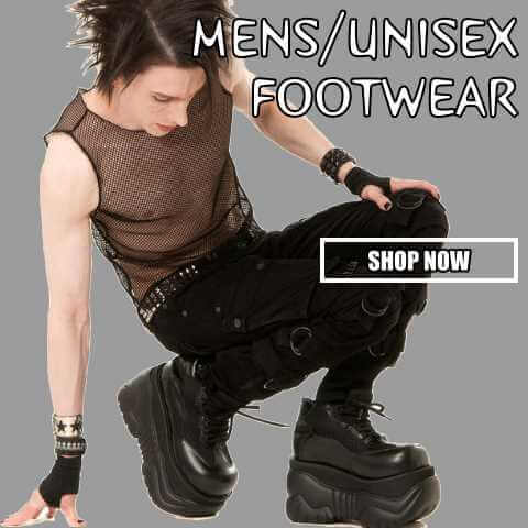 shop mens gothic shoes and boots demonia free shipping