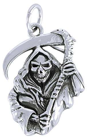 buy gothic jewelry, occult charms, sterling silver pendants