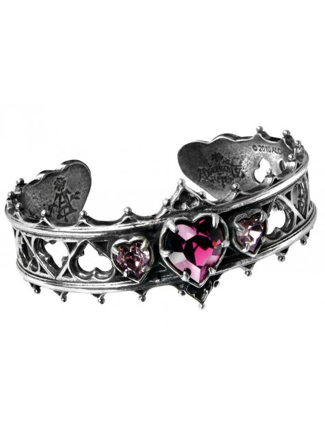 Elizabethan Pewter Cuff Gothic Bracelet at Gothic Plus, Gothic Clothing, Jewelry, Goth Shoes & Boots & Home Decor