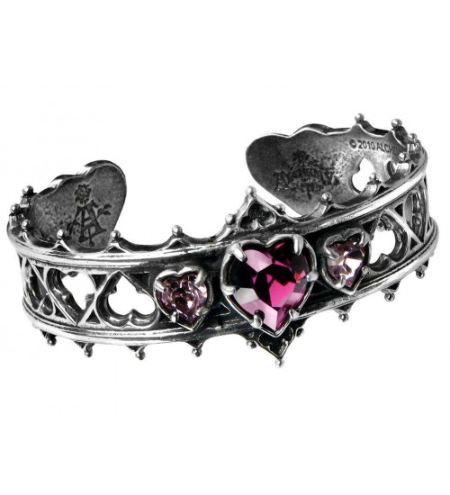 Elizabethan Pewter Cuff Gothic Bracelet at Gothic Plus,  Gothic Clothing, Jewelry, Goth Shoes, Boots & Home Decor