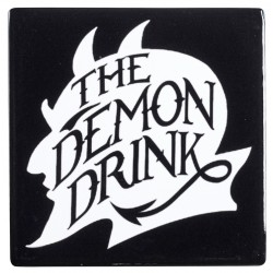Demon Drink Ceramic Coaster Gothic Plus Gothic Clothing, Jewelry, Goth Shoes & Boots & Home Decor
