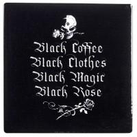 Gothic Coffee Lovers Ceramic Coaster