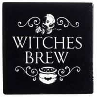 Witches Brew Ceramic Coaster