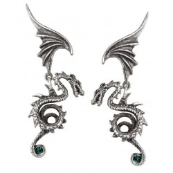 Bestia Regalis Dragon Earring Pair Gothic Plus  Gothic Clothing, Jewelry, Goth Shoes, Boots & Home Decor