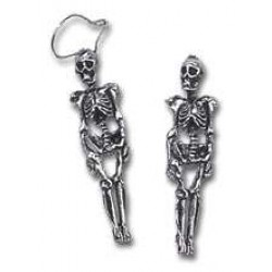Skeleton Pair of Gothic Earrings Gothic Plus  Gothic Clothing, Jewelry, Goth Shoes, Boots & Home Decor