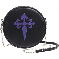 Gothic Cross Round Shoulder Bag Gothic Plus Gothic Clothing, Jewelry, Goth Shoes & Boots & Home Decor