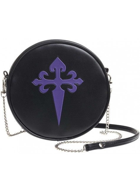 Gothic Cross Round Shoulder Bag at Gothic Plus, Gothic Clothing, Jewelry, Goth Shoes & Boots & Home Decor