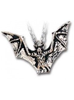 Vampyr Bat Pewter Necklace Gothic Plus Gothic Clothing, Jewelry, Goth Shoes & Boots & Home Decor