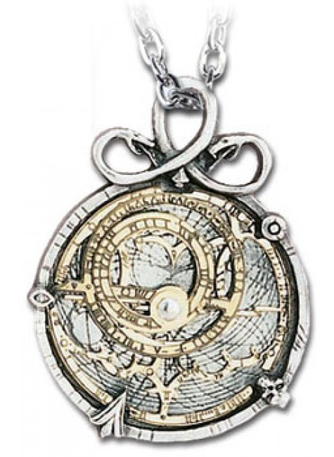 Anguistralobe Pewter Steampunk Necklace at Gothic Plus, Gothic Clothing, Jewelry, Goth Shoes & Boots & Home Decor