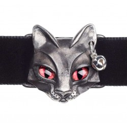 Bastet Egyptian Goddess Pewter Choker Gothic Plus  Gothic Clothing, Jewelry, Goth Shoes, Boots & Home Decor