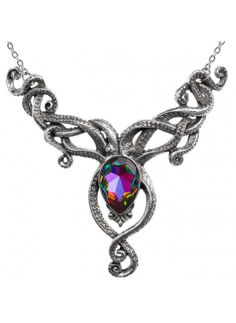 Kraken Pewter Octopus Gothic Necklace at Gothic Plus, Gothic Clothing, Jewelry, Goth Shoes & Boots & Home Decor