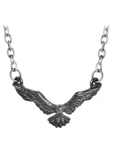 Ravenette Black Raven Necklace at Gothic Plus, Gothic Clothing, Jewelry, Goth Shoes & Boots & Home Decor