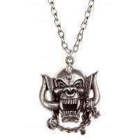 Motorhead War-Pig Pewter Necklace