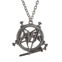 Slayer Pentagram Logo Necklace