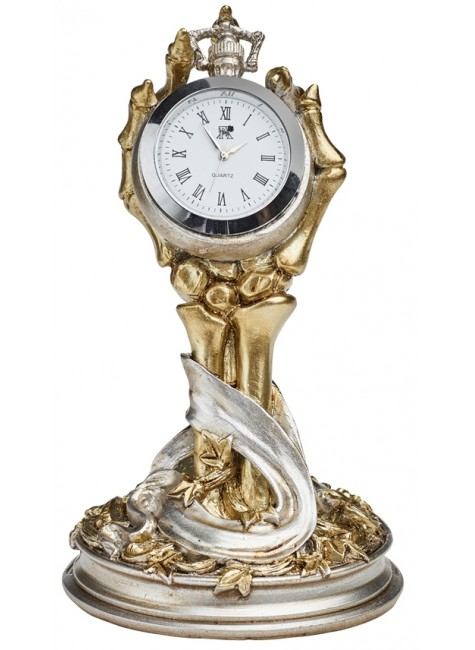 Hora Mortis Gothic Desk Clock at Gothic Plus, Gothic Clothing, Jewelry, Goth Shoes & Boots & Home Decor