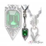 Sucre Vert Absinthe Spoon Pewter Necklace