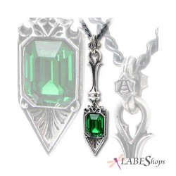Sucre Vert Absinthe Spoon Pewter Necklace Gothic Plus Gothic Clothing, Jewelry, Goth Shoes & Boots & Home Decor