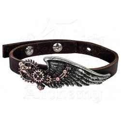 The Black Baron Technicians Wingstrap Steampunk Bracelet Gothic Plus  Gothic Clothing, Jewelry, Goth Shoes, Boots & Home Decor