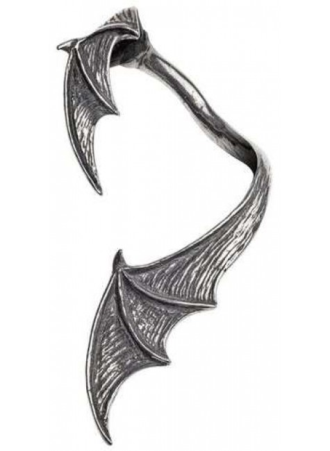 A Night with Goeth Bat Wing Earwrap at Gothic Plus, Gothic Clothing, Jewelry, Goth Shoes & Boots & Home Decor