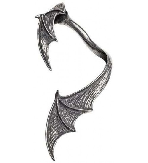 A Night with Goeth Bat Wing Earwrap at Gothic Plus,  Gothic Clothing, Jewelry, Goth Shoes, Boots & Home Decor