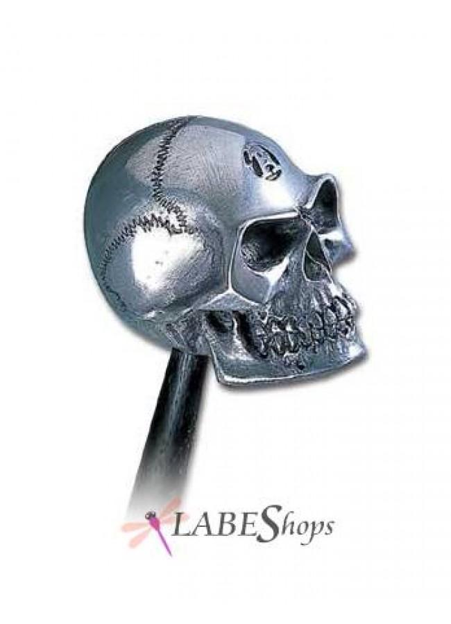 Metalized alchemist gear shift knob for Alchemy skull decoration