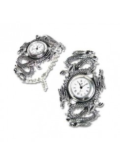 Imperial Dragon Pewter Gothic Wrist Watch Gothic Plus Gothic Clothing, Jewelry, Goth Shoes & Boots & Home Decor