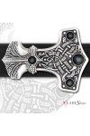 Thunder Hammer Pewter Thor Belt Buckle