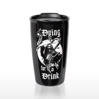 Reaper Gothic Double Walled Travel Mug