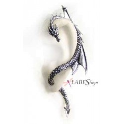 Dragons Lure Earring Wrap - Left Ear Gothic Plus Gothic Clothing, Jewelry, Goth Shoes & Boots & Home Decor