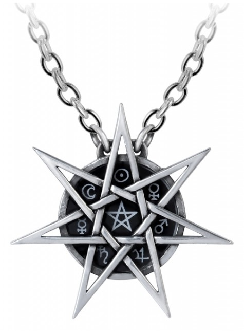 Elven Star Mystic Necklace at Gothic Plus, Gothic Clothing, Jewelry, Goth Shoes & Boots & Home Decor