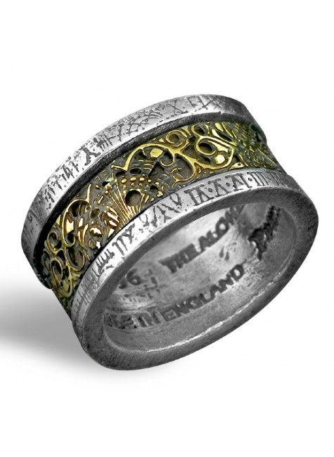 Dr. von Rosensteins Induction Principle Ring at Gothic Plus, Gothic Clothing, Jewelry, Goth Shoes & Boots & Home Decor