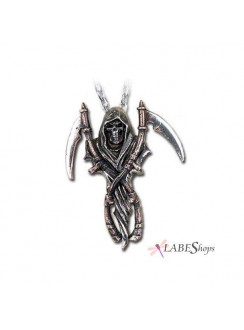 Reapers Arms Gothic Pewter Necklace Gothic Plus Gothic Clothing, Jewelry, Goth Shoes & Boots & Home Decor