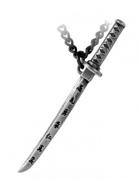 Bushido Pewter Necklace at Gothic Plus, Gothic Clothing, Jewelry, Goth Shoes & Boots & Home Decor